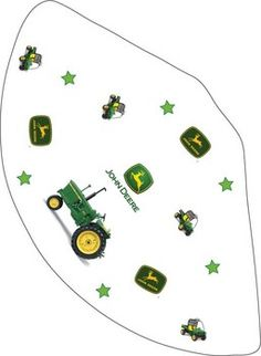 John Deere free party printables