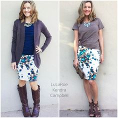 Cassie skirt with different LLR tops