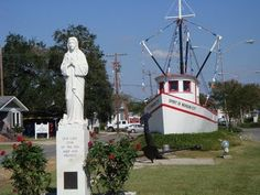 My hometown, Morgan City, Louisiana... When you first come into the city off Highway 90.