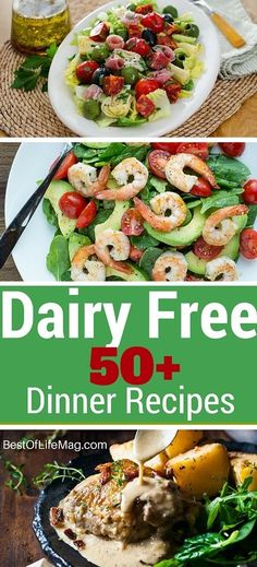 On a Dairy Free diet? Here are 50 recipes that taste amazing and will leave you feeling like you didn't miss a thing.