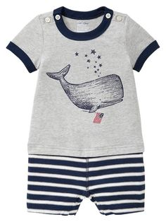 Gap | Whale graphic one-piece
