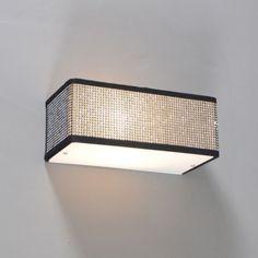 Aplique de pared DRUM diamantes cuadrado - Apliques de pared - Iluminación interior - lamparayluz.es