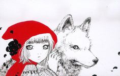 red riding hood by Camilla d'Errico