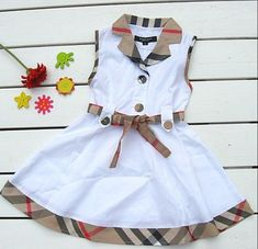 Couture Children Clothes Dresses Designer Skirt Baby Kids Plaid Bow Couture Kinderkleidung Kleider Designer Rock Baby Kids Plaid Bow This. Baby Frocks Designs, Kids Frocks Design, Baby Dress Design, Frock Design, African Dresses For Kids, Little Girl Dresses, Dress Girl, Baby Girl Dress Patterns, Frocks For Girls