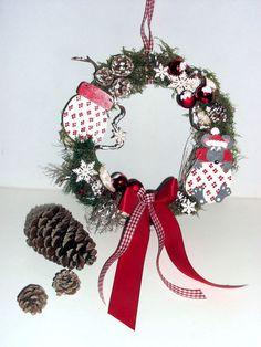 Türkranz Wintermaus von Claudia`s Geschenkparadies auf DaWanda.com