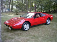 Ferrari 308? Oh no, meet the Pontiac Mera! Sanctioned by Pontiac, this was an original option for Pontiac Fiero buyers looking for something slightly prettier! Less than 250 were made before Ferrari sued and production was ceased. Nice looking car though, and why wouldn't it be? I mean the 308 is gorgeous!
