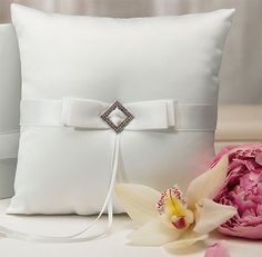 Pure Elegance Ring Bearer Pillow