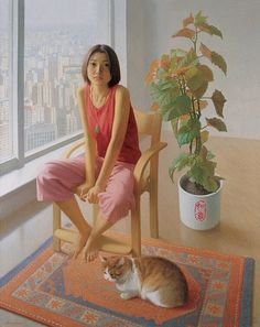 Li Gui Jun... http://www.pinterest.com/joannalmann/artwork-figurative-portrait-2/