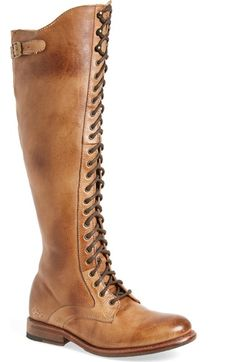 Bed Stu 'Della' Lace-Up Boot (Women) available at #Nordstrom