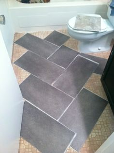 Those Who Knows Me Well Know That I Unequivocally Absolutely With Few To No Vinyl Tile Bathroombathroom Flooringkitchen