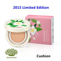 [ Innisfree ] Long Wear Cushion SPF50+ PA+++ 15g Limited Edition(New2015), Korean Best Cosmetics, Free Shipping
