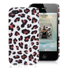 Iphone 4 Leather Cover Case - Leopard Skin for iPhone 4 and iPhone 4S $3.49 #iPhone4 #Cases #back #covers #awesome #cheap #free #shipping #fashion #phone #accessories #iPhone #smartphones #monkey #cellz.com $3.49 Iphone 4 Cases, Iphone 4s, Red Accessories, Phone Accessories, Cheap Iphones, Leather Cover, Monkey, Smartphone, Free Shipping