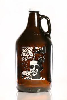 Haus Of Growlers, Hunter S. Thompson, Growler, Growlers, Craft Beer, Beer, Quotes, Famous Quotes, Beer Quotes
