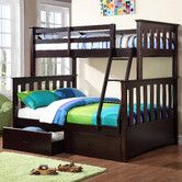 Found it at Wayfair - Kira Twin Over Full Standard Bunk Bed