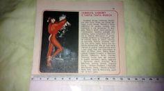 Ritaglio/clipping di giornale 1979 CECILIA BONOCORE, showgirl 70's RARITA!