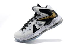 "White/Metallic Gold and Black Lebron James Nike Zoom X P.S Elite""Home""(Arriving at Retailers)"