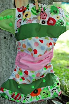 OS Pocket Diaper by backyardbabes on Etsy, $15.95