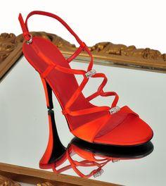 Röda Gucci, köpta i Florens