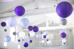 So lovely wedding {Charlotte   Yann} mariage couleur lavande à Montpellier Purple Lantern, Purple Wedding Decorations, Wedding Centerpieces, Wedding Bouquets, Wedding Mood Board, Our Wedding, Paper Lanterns, Get The Party Started, Just Married
