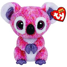 Ty Beanie Boos Kacey The Pink Koala Plush * Details can be found by clicking on the image. (This is an affiliate link) #StuffedAnimalsTeddyBears