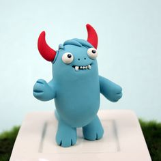 Leslie Levings. play doh monsters