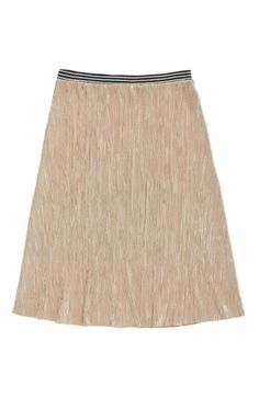 Metallic Midi Skirt image