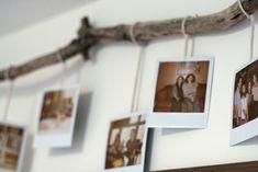 Polaroid hanging