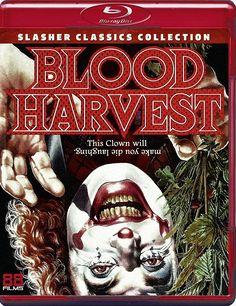 BLOOD HARVEST BLU-RAY SPINE #34 (88 FILMS SLASHER CLASSICS COLLECTION)