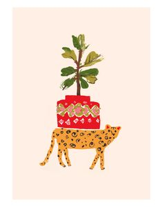 Cheetah Leisure by Danielle Kroll #art #prints