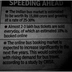 Online bus market