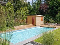 Nice Immostimme Sauna Paradies im Garten