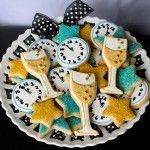 New Years Eve Party champagne glass cookies