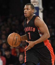 Toronto Raptors guard Kyle Lowry controls the ball Nba Players, Basketball Players, Nba Pictures, Kyle Lowry, Toronto Raptors, New York Knicks, Best Player, Sports Teams, Detroit