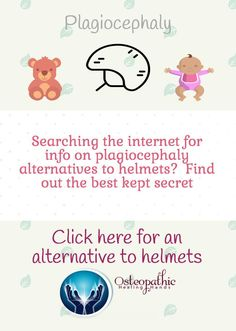 Just because you baby has been diagnosed with plagiocephaly, or flat-head syndrome, doesn't mean he or she needs to wear a helmet.