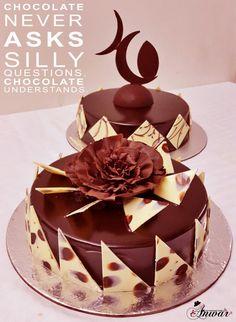 Chocolate cake by Chef Anwar