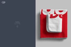 Towel 2 Sizes Mockup by dennysmockups on @creativemarket