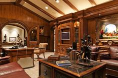 Beautiful Mansion With Traditional Interior Design – Holladay Estate