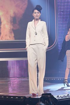 Fashion Star: Kara's Ivory Women's Suit #FashionStar