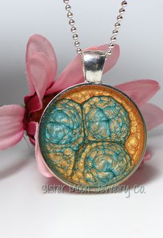 One of A Kind Prisma Pendant Abstract by SisterMoonJewelryCo, $15.00 #handmade #jewelry #abstract #unique