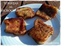 TORRIJAS AL MICROONDAS | Cocina