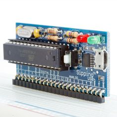 Sippino - The Sideways Arduino made for breadboads!