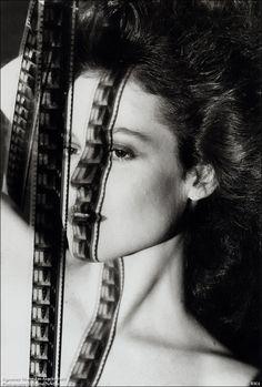 Sigourney Weaver, Los Angeles, 1983 - Helmut Newton. Strange but I like it.