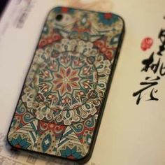 Image of [grlhx110065 zxy]The geometric  hard Case For Iphone 4/4s/5
