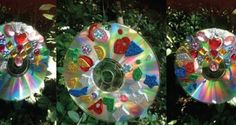 61 Outstanding Suncatcher Craft Ideas   FeltMagnet Recycled Cd Crafts, Christmas Crafts, Christmas Bulbs, Kid Check, Sun Catcher, Project Yourself, Recycling, Craft Ideas, Holiday Decor