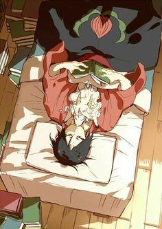 The anime is Hoosuki no Reitetsu Fan Anime, Anime Manga, Anime Art, Anime Boys, Animes Emo, Desu Desu, Natsume Yuujinchou, Animation, Boy Art