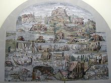 Mosaic nilòtic. Palestrina Museu Arqueològic de Praeneste.