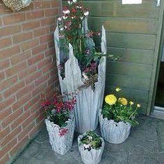 DIY, vaser av sement (Inspirasjon og DIY)