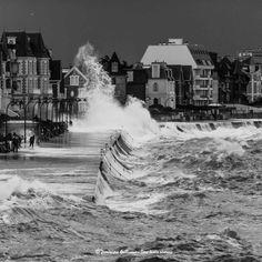 Saint-Malo, Bretagne. Grandes marées février 2015