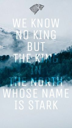25 Reasons to Watch Game of Thrones King in the North - Jon Snow - Stark - Game of Thrones Watch Game Of Thrones, Game Of Thrones Quotes, Game Of Thrones Fans, Winter Is Here, Winter Is Coming, Game Of Thrones Instagram, The North Remembers, King In The North, House Stark