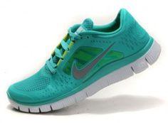 best service 9037a 5f81e Nike Free Run 5.0 V3 Groen Zilver Schoenen Mannen